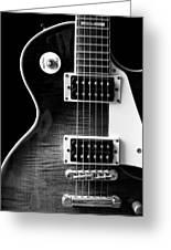 Jay Turser Guitar Bw 4 Greeting Card