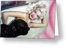 Jayne Mansfield Greeting Card