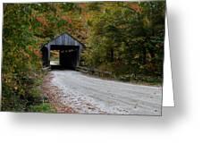 Jaynes Covered Bridge Greeting Card