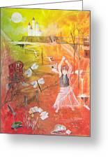 Jayzen - The Little Gypsy Dancer Greeting Card
