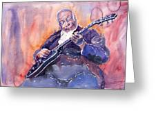 Jazz B.b. King 03 Greeting Card