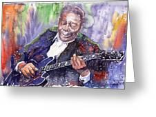 Jazz B B King 06 Greeting Card