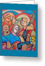 Jazz Ballad Greeting Card