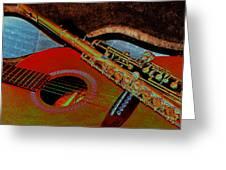 Jazz Band Greeting Card