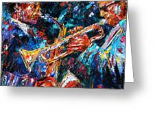 Jazz Brothers Greeting Card