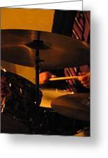 Jazz Drums Greeting Card
