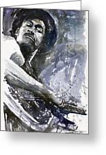 Jazz Marcus Miller 01 Greeting Card