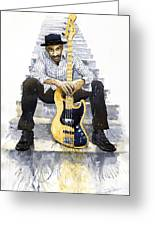 Jazz Marcus Miller 4 Greeting Card