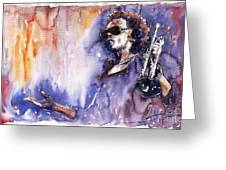 Jazz Miles Davis 14 Greeting Card