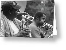 Jazz Musicians  Greeting Card