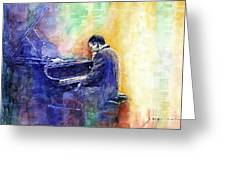 Jazz Pianist Herbie Hancock  Greeting Card