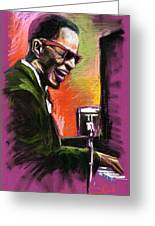 Jazz. Ray Charles.2. Greeting Card
