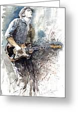 Jazz Rock John Mayer 05  Greeting Card
