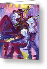 Jazz Trio Greeting Card