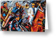 Jazz Unit Greeting Card