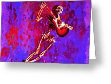 Jazzer Greeting Card