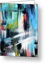 Jazzy Blues Greeting Card