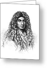 Jean-baptiste Lully, French Composer Greeting Card
