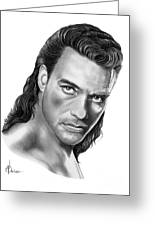 Jean-claude Van Damme Greeting Card