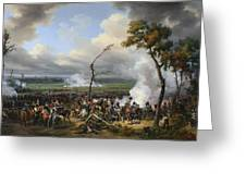 Jean Horace Vernet   The Battle Of Hanau Greeting Card