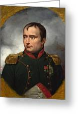 Jean Horace Vernet   The Emperor Napoleon I Greeting Card