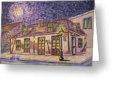 Jean Lafitte Blacksmith Shop Bourbon Street New Orleans Greeting Card by Catherine Wilson
