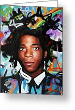 Jean, Michel, Basquiat II Greeting Card