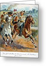 Jeb Stuarts Cavalry 1862 Greeting Card