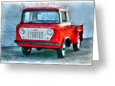 Jeep 1959 Fc150 Forward Control Pickup Greeting Card
