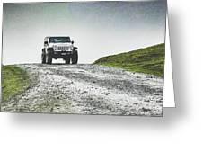 Jeep Greeting Card
