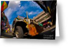Jeepney 62932501 Greeting Card