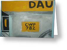 Jeepney Greeting Card