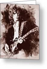 Jeff Beck - 01 Greeting Card