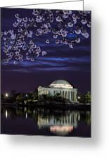 Jefferson Cherry Sunrise Greeting Card