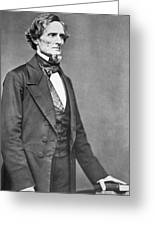 Jefferson Davis Greeting Card by American Photographer