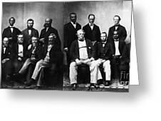Jefferson Davis Trial Greeting Card