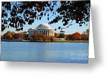 Jefferson In Splendor Greeting Card