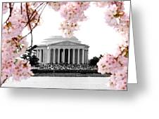 Jefferson In Spring Greeting Card