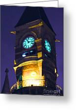 Jefferson Market Clock Tower Greeting Card
