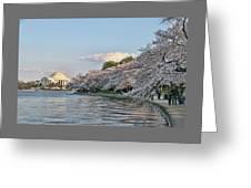 Jefferson Memorial # 4 Greeting Card