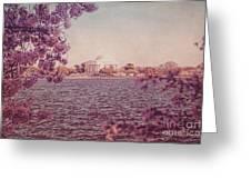 Jefferson Memorial During Spring Greeting Card