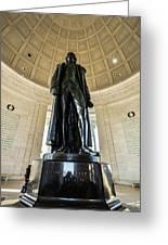 Jefferson Memorial Lll Greeting Card