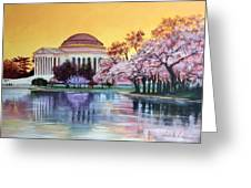 Jefferson Monument Greeting Card