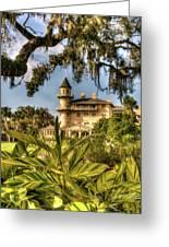Jekyll Island Club Hotel Through The Foliage by Douglas Barnett