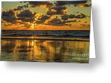 Jekyll Island Sunrise Greeting Card