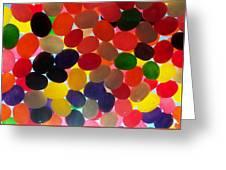 Jellybeans Greeting Card by Anna Villarreal Garbis