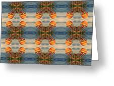 Jellyfish Pattern Greeting Card