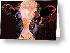 Jemima The Cow Greeting Card