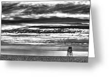 Jennings Beach, Fairfield Greeting Card