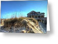 Jennettes Pier Nags Head North Carolina Greeting Card